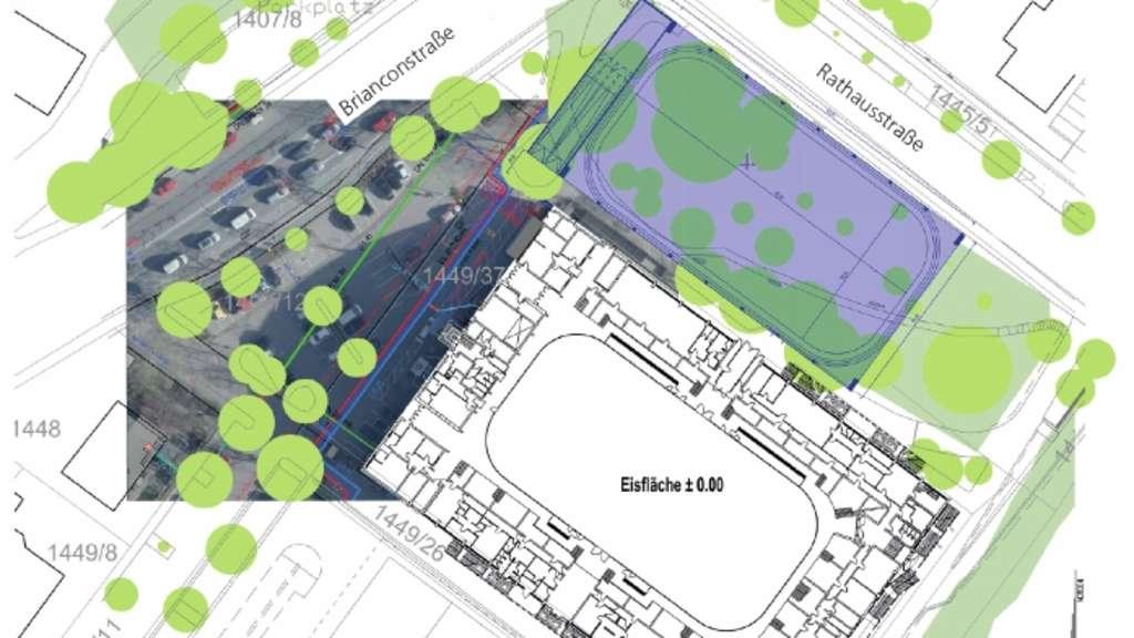 Im park auf dem rasen auf dem dach rosenheim stadt for Architekturburo rosenheim