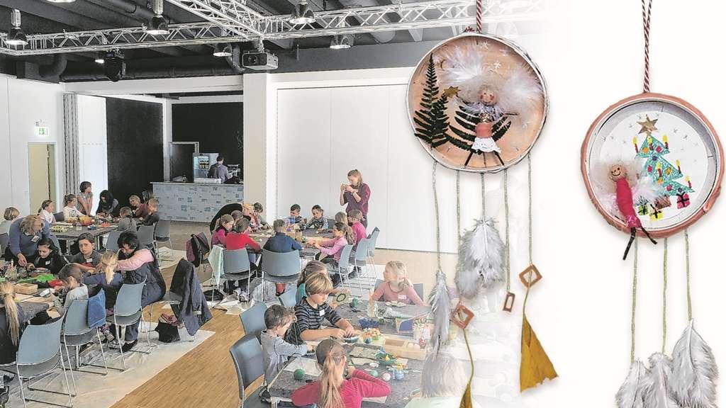 Weihnachtsbasteln Im Kindergarten.Medienzentrum Wird Bastelstube Landkreis