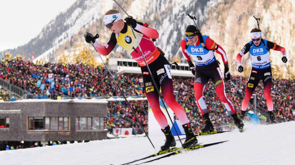 Biathlon Massenstart Damen Heute