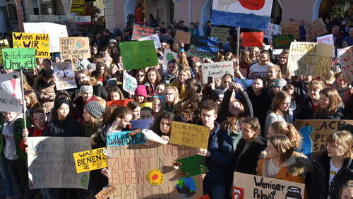 Fridays for Future: So demonstrieren Schüler aus der Region