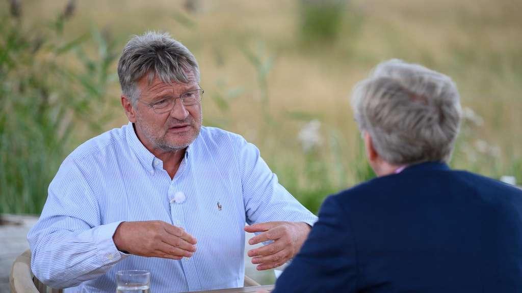 Meuthen/ZDF-Sommerinterview: AfD-Chef Verteidigt Anti