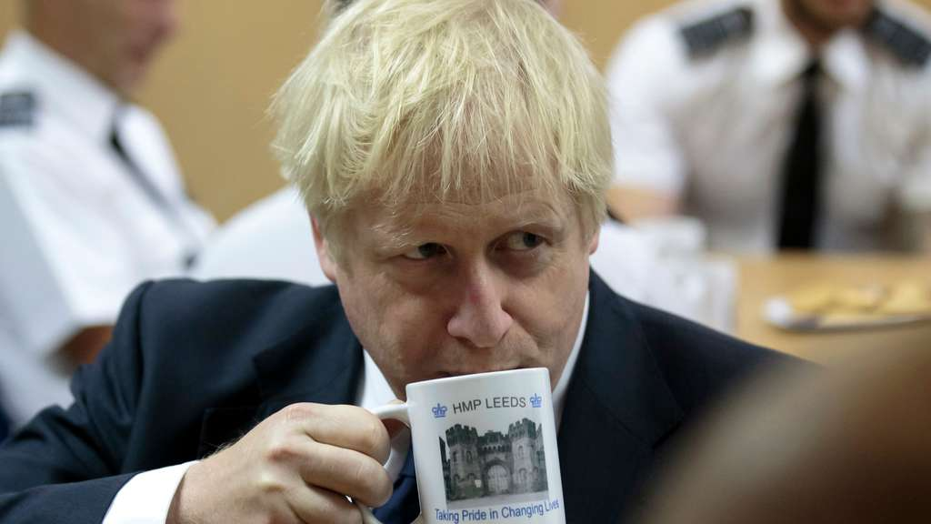 Umstrittener Premier: Boris Johnson