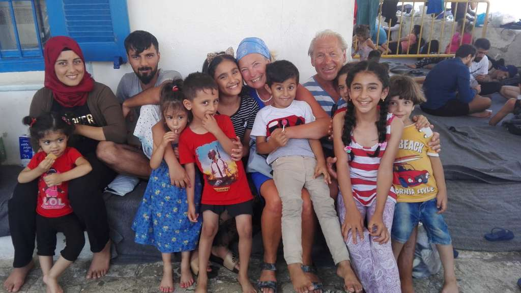 Symi Flüchtlinge