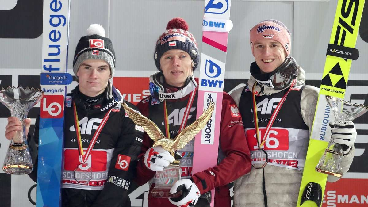 skispringen termine 2019