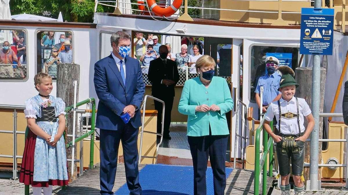 Merkel Herrenchiemsee