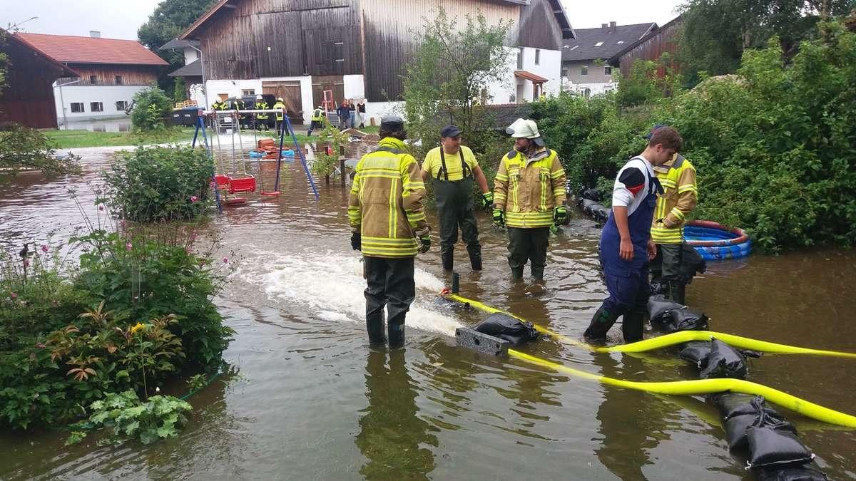 Hochwasser Rosenheim/Chiemgau am 4. August: Die Lage am