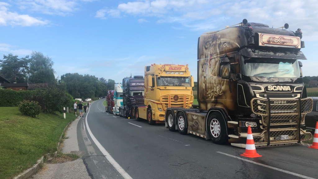 Dolientes camionero