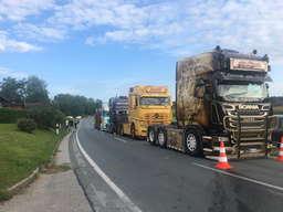 Los camioneros estan esperando