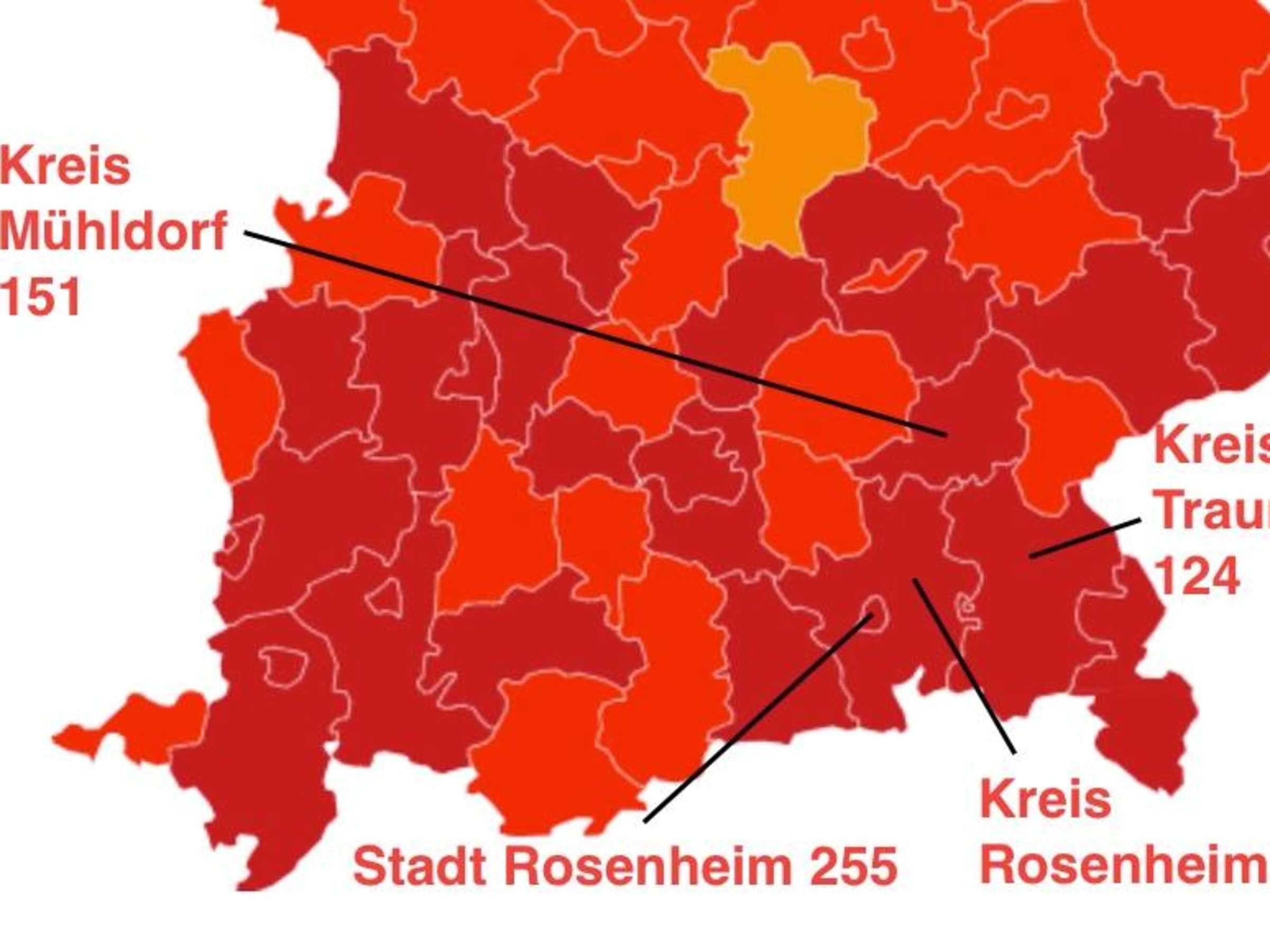 Bayern Neuinfektionen