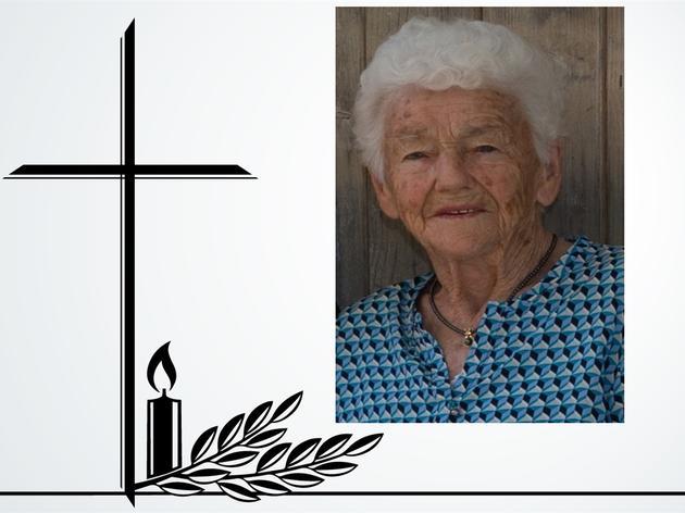 Maria Böck aus Halfing ist mit 97 Jahren gestorben